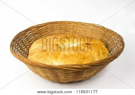 Chubby Rotund Unleavened Wheat Cake