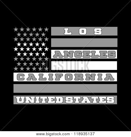 Los Angeles, California, shirt, fashion