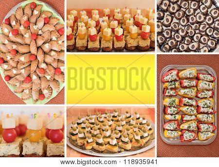 Collage Finger Food