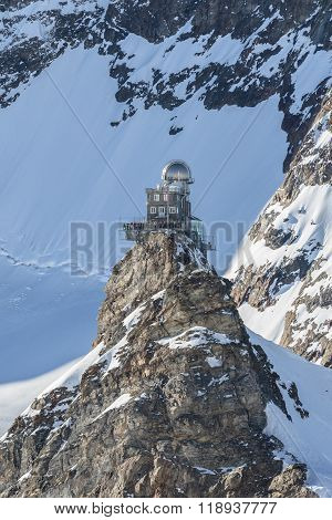 Sphinx Observatory On Jungfraujoch