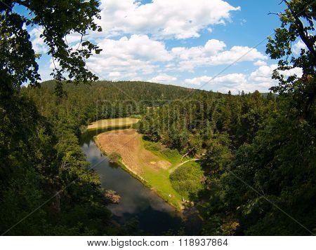 River Rak in Rakov Skocjan