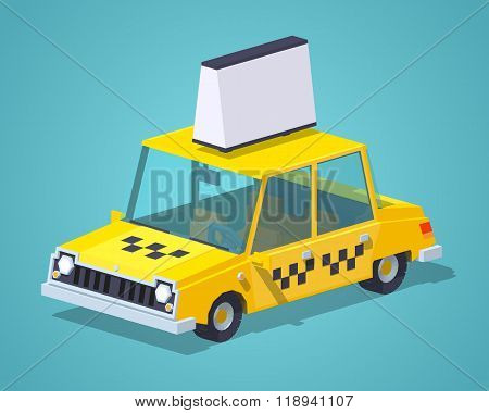 Taxi old sedan