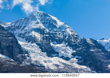 View Of The Famous Peak Monch