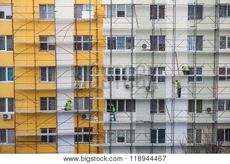 Team Of Construction Workers
