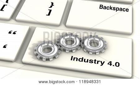 Industry 4.0 Keyboard