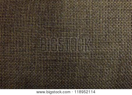 Background Pattern Of Dark Brown Textile Texture