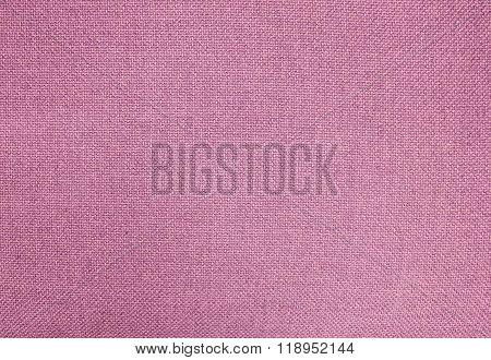 Pastel Background Of Pink Cotton Textile Texture
