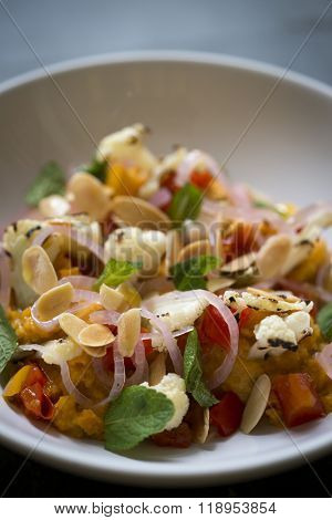 Seared Cauliflower Main Course