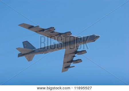 B-52 heavy bomber jet airplane