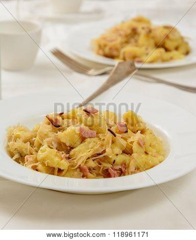 Traditional Slovakian Gnocchi