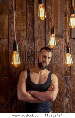 Stylish Man With Beard