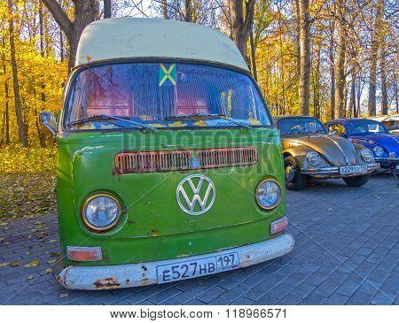 Minibus Volkswagen Transporter T1.