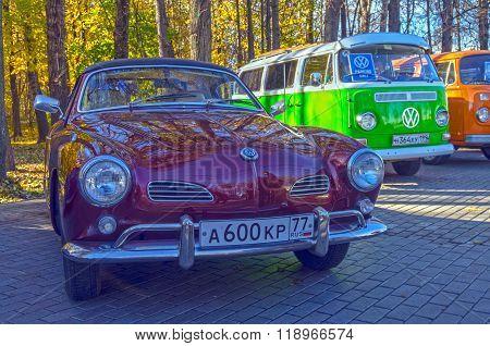 Car Volkswagen  Karmann-ghia Typ 14