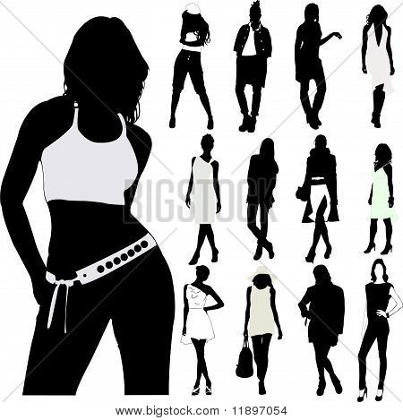 Fashion Women - vector