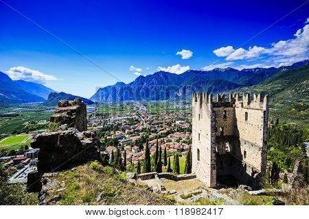 Arco - Medieval castle, Trentino, Italy