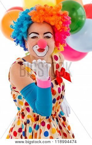 Funny Playful Clown