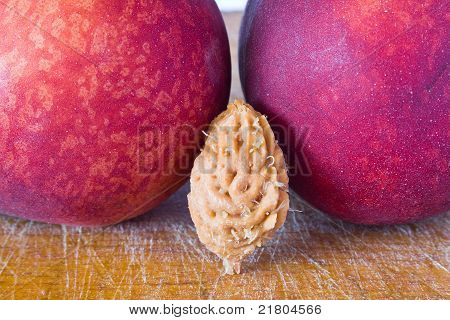 Peach And Core