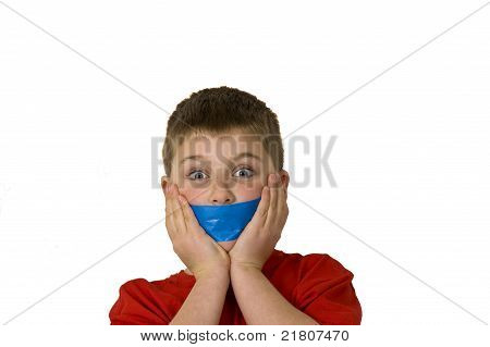 Gagged Boy