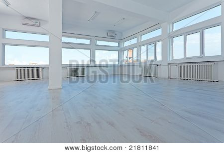 Empty Office Space To Let