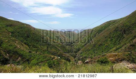 Solstice Canyon Panorama