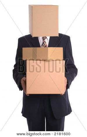 Box Man - Delivery