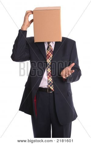 Box Man - Thinking