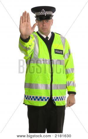 Polícia parar de tráfego