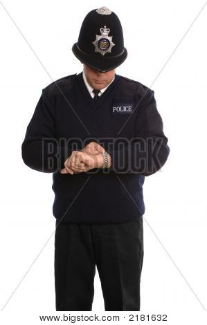 Policeman Timecheck.