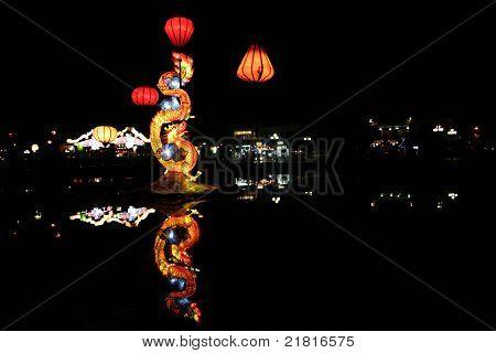 Dragon's Lake In Hoi An (vietnam)
