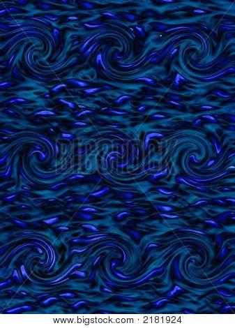 Blue 'Van Gogh'