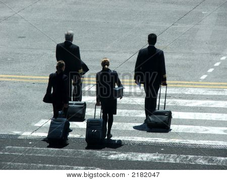 Pilots And Stewardess
