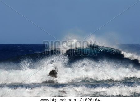 Große Insel Swell