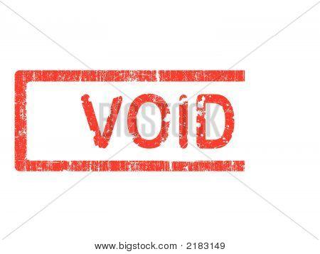 Grunge Briefmarken - Void