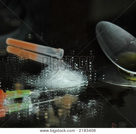 Syringe And Powder