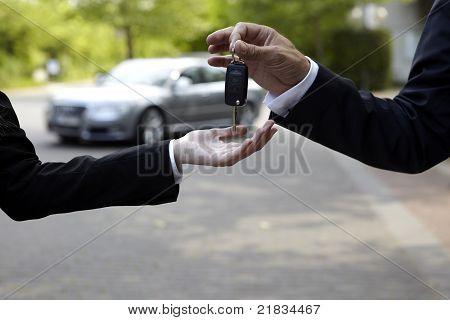 Hand-Over of Keys