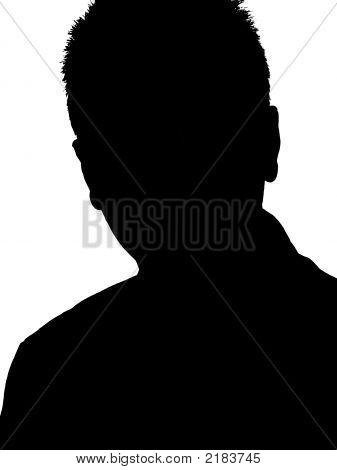 Young Adult Man Silhouette