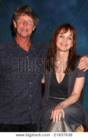 LOS ANGELES - JUL 16:  Eric Shea, Pamela Sue Martin at the Hollywood Show at Burbank Marriott Convention Center on July 16, 2011 in Burbank, CA
