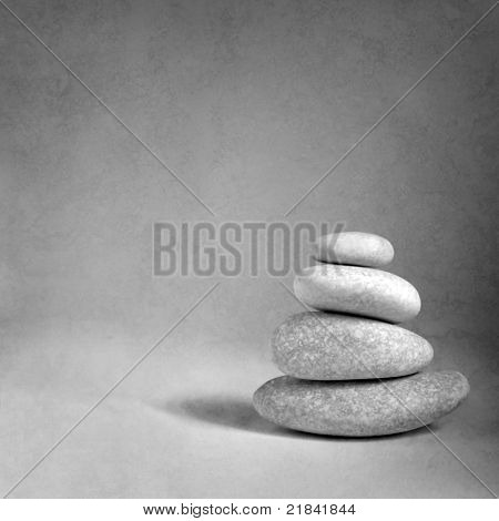 Rocks stacked one top of another is an art form.