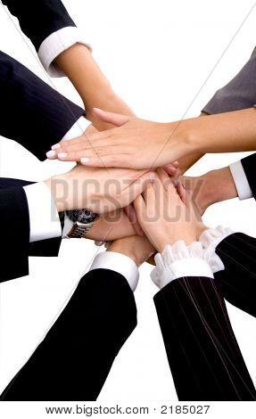 Trabajo en equipo empresarial