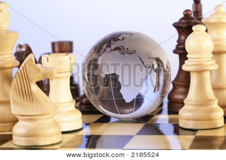 Globe And Chess