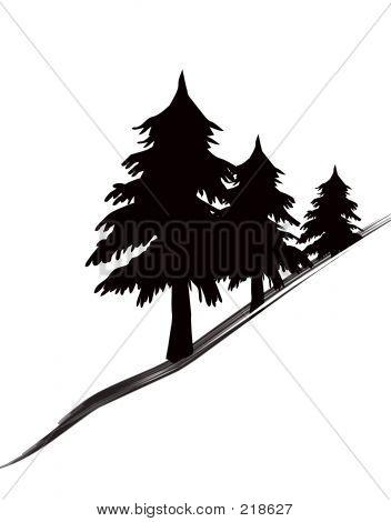 Icono de árboles