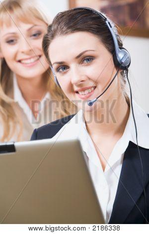 Operador de servicio al cliente