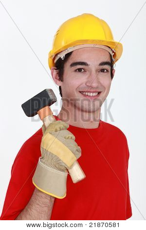 Builder with mallet