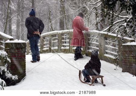 Sledge Over The Bridge