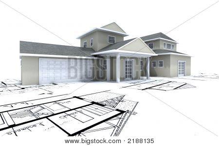 Caro casa con garaje en planos