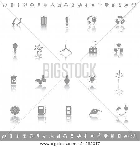Environmental icon set