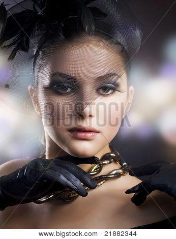 Romantisches Beauty Portrait
