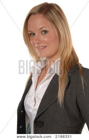 Attractive Smiling Business Women