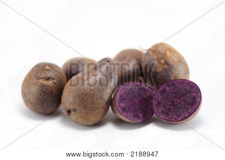 Peruvian Blue Potatoes