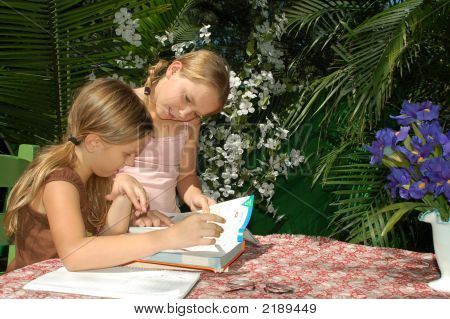 Children Doing Homework 2
